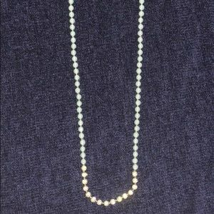 Banana Republic: Blue & diamonds necklace